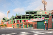 Recreation Buildings Prints - Fenway Park I Print by Clarence Holmes