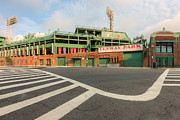 Recreation Buildings Prints - Fenway Park II Print by Clarence Holmes
