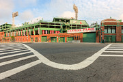 Recreation Buildings Prints - Fenway Park III Print by Clarence Holmes