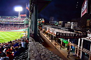 Fenway Park Framed Prints - Fenway Park Framed Print by Kevin Ouellette