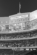 Baseball Park Metal Prints - Fenway Park Metal Print by Lauri Novak