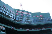 Red Sox Metal Prints - Fenway Park Metal Print by Stephen Melcher
