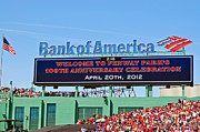 Boston Red Sox Metal Prints - Fenways 100th Metal Print by Joann Vitali
