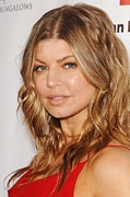 Bungalows Prints - Fergie At Arrivals For American Red Print by Everett