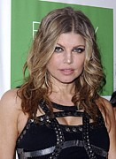 Launch Party Prints - Fergie At Arrivals For The Beauty Detox Print by Everett