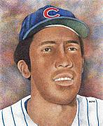 Chicago Baseball Drawings - Fergie Jenkins by Rob Payne