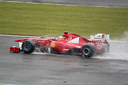 Racetrack Photos - Fernando Alonso by Kieran Brimson