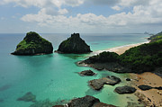 Tropical Destinations Prints - Fernando De Noronha Archipelago Tropical Island Print by by Roberto Peradotto