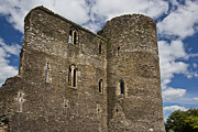 Normans Photos - Ferns Castle Ireland by Celine Pollard