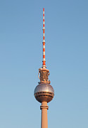 Communications Tower Prints - Fernsehturm (television Tower) In Berlin Print by Bjorn Holland