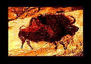 Cave Paintings - Ferocious by Angela Treat Lyon