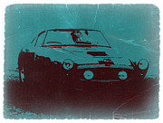 Italian Classic Cars Prints - Ferrari 250 GTB Print by Irina  March