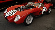 Digital Processing Prints - Ferrari 250 TR Engine Exposed Print by Curt Johnson