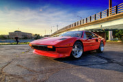 Joel Witmeyer Art - Ferrari 308 by Joel Witmeyer