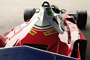 Indy Car Prints - Ferrari 312 T2 F-1  Niki Lauda Aft Print by Curt Johnson