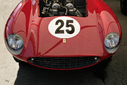 Digital Processing Prints - Ferrari 500 Mondial Frontal Print by Curt Johnson