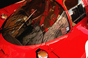 Digital Processing Prints - Ferrari 512S 1970 Cockpit Print by Curt Johnson