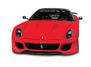 Super Car Prints - Ferrari 599XX Print by Oleksiy Maksymenko