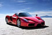 Extreme Digital Art - Ferrari Enzo by Douglas Pittman
