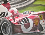James Lopez - Ferrari F1 car at speed