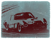 Italian Classic Cars Prints - Ferrari GTO Print by Irina  March