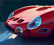 Ferrari Gto Prints - Ferrari Two Fifty GTO Print by Frank Dalton