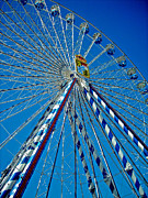Bayern Framed Prints - Ferris Wheel - Nuremberg  Framed Print by Juergen Weiss