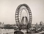 1893 Framed Prints - Ferris Wheel, 1893 Framed Print by Granger