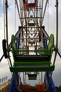 Ferris Wheel Print by Anne Babineau