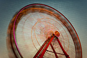 Whee Framed Prints - Ferris Wheel IX Framed Print by Clarence Holmes