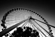 Leda Photography Metal Prints - Ferris Wheel Metal Print by Leslie Leda