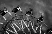 B-movie Originals - Ferris Wheel on a Stormy Night by Mark Hendrickson