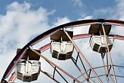 Ferris Wheel Print by Tara Romasanta