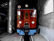 Shed Digital Art Originals - Ferrocarrril de Soller by Charles Stuart