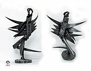 Iron  Sculptures - Ferrous Angel by MBL Binlamin