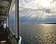 Grandson Art - Ferry Beautiful Morning by Vicki Jauron