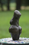 River Sculpture Prints - Fertility Goddess back Print by Tommy  Urbans