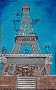 France Mixed Media Originals - Festival de la Musica Francese by Giampaolo Piemontese