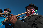 Music Photos - Festival of dance and traditional music. Population of Compi.Republic of Bolivia. by Eric Bauer
