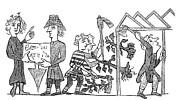 Feudalism: Village Print by Granger