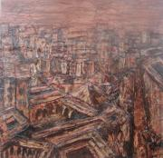 Featured Reliefs Prints - Fez medina 01 2008 Print by Mohamed-Hosni Belkorchi