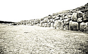 35mm Prints - Field at Sacsayhuaman Print by Darcy Michaelchuk
