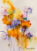 Field Flowers Print by Anne Duke