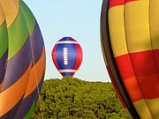 Hot Air Balloons Art - Field Goal by Mark Dodd