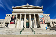 Editorial Metal Prints - Field Museum in Chicago Metal Print by Paul Velgos