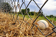 Base Balls Posters - Field of Dreams Poster by Jason Politte