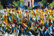 First Art Show - Field of Flowers by John Gholson