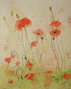 Donna Wiegand - Field of Poppies I