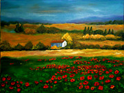 Rena Buford - Field of Poppies