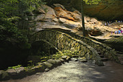 Fieldstone Photos - Field Stone Foot Bridge by Richard Gregurich